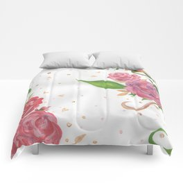 Lovely Roses Comforters