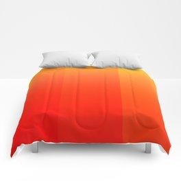 Colors (Orange) Comforters