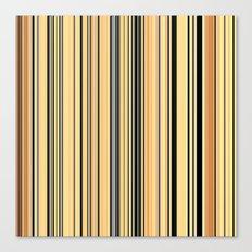 High Society Vintage Rustic Glam Stripes 001 Canvas Print