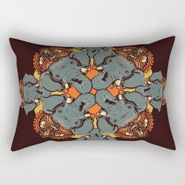 Gnesha Pattern Rectangular Pillow