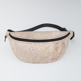 Celestial Intentions in Rose Quartz - Base Chakra Fanny Pack