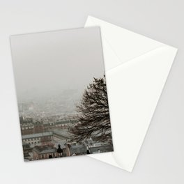 View from, Montmartre | Colourful Travel Photography | Paris, France Stationery Cards