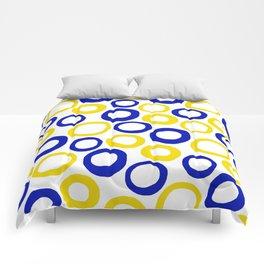 Calamari Hoops 01 Comforters