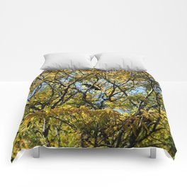 Fall Crow Comforters