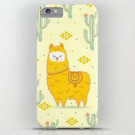 Alpaca summer iPhone Case