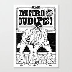 Metro Budapest Canvas Print