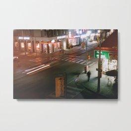 Toronto - Crosswalkin' Metal Print