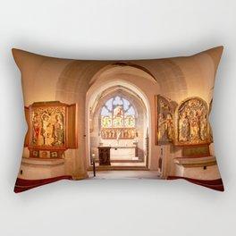 Diem Monasterium interiorem Rectangular Pillow