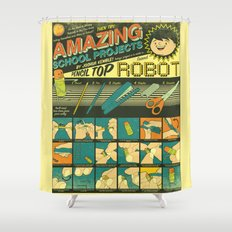 Amazing School Projects Shower Curtain