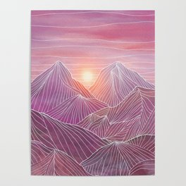 Lines in the mountains 02 Poster