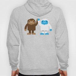 Bigfoot and Yeti Bros - High Five Hoody