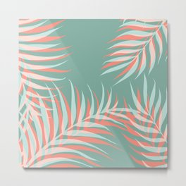 Palms Vision #society6 #decor #buyart Metal Print