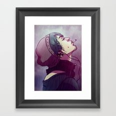 cantsmokewhileitrains Framed Art Print
