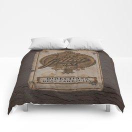 old razor ad Comforters