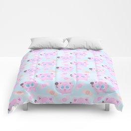 Jigglypuff pattern Comforters