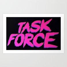 Task Force Art Print