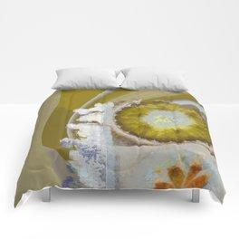 Heronbill Content Flower  ID:16165-155700-92131 Comforters