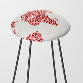 Love, You Are My World Counter Stool