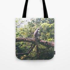 Sri Lankan Monkey Tote Bag