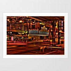 Chicago Theater Art Print