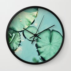 Be water Wall Clock