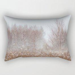 Colors of Winter Rectangular Pillow