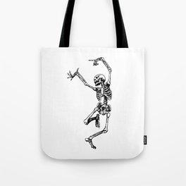 DANCING SKULL Tote Bag