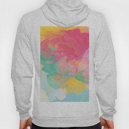colored explosion Hoody