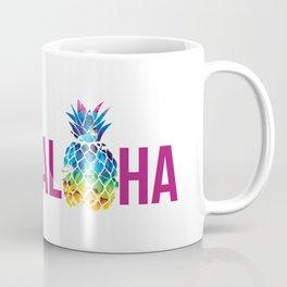Aloha Pineapple Hawaii Fruit Coffee Mug