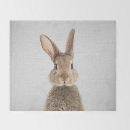 Rabbit - Colorful Throw Blanket