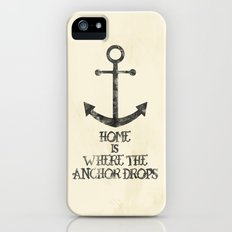 Where The Anchor Drops iPhone (5, 5s) Slim Case