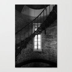 Spiral & Window Light Canvas Print