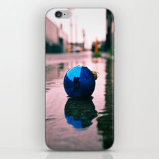 Urban Yuletide reflection iPhone & iPod Skin
