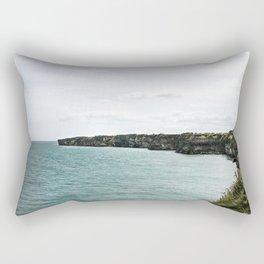 Cliffs of Normandy Rectangular Pillow