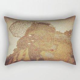 Polka Dot Brollie Rectangular Pillow
