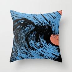 Turmoil Throw Pillow