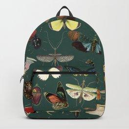 Lovely Butterfly Green Backpack