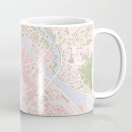Copenhagen map vintage Coffee Mug