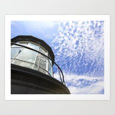 Lighthouse's Tale  Art Print