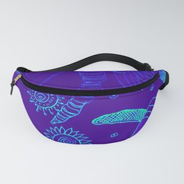Blue Energy Transformation Fanny Pack