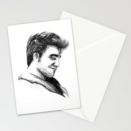 Robert Pattinson Inspired Sketch Stationery Cards