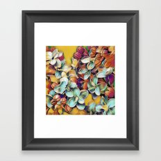 Painted Lilacs Framed Art Print