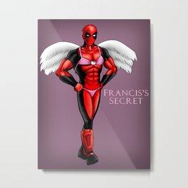 Francis's Secret Metal Print
