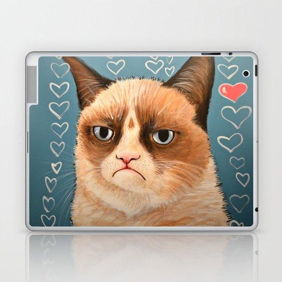 Grumpy Cat ... Love You Laptop & iPad Skin