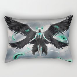 Tormenta De Murcielago Rectangular Pillow