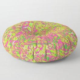 Hawaian Ancient Pai Pai Patten Floor Pillow