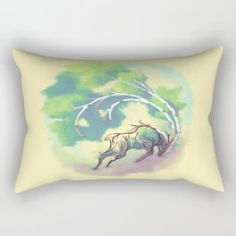 Essence of Nature - Thunderous Wind Rectangular Pillow