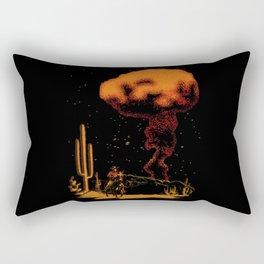 Atomic Cowboy Rectangular Pillow