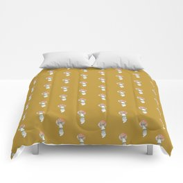 Mushroom Fungus Fly Agaric Camel Simple Comforters
