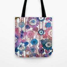 Hanging Flower Garland Tote Bag